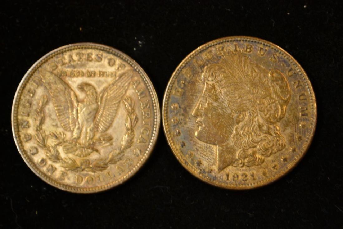 Buffalo Head Nickel & 2 1921 - 2