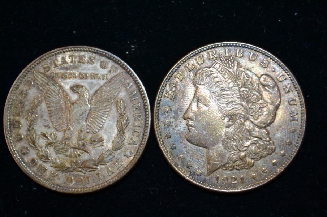 Buffalo Head Nickel & 2 1921 - 3