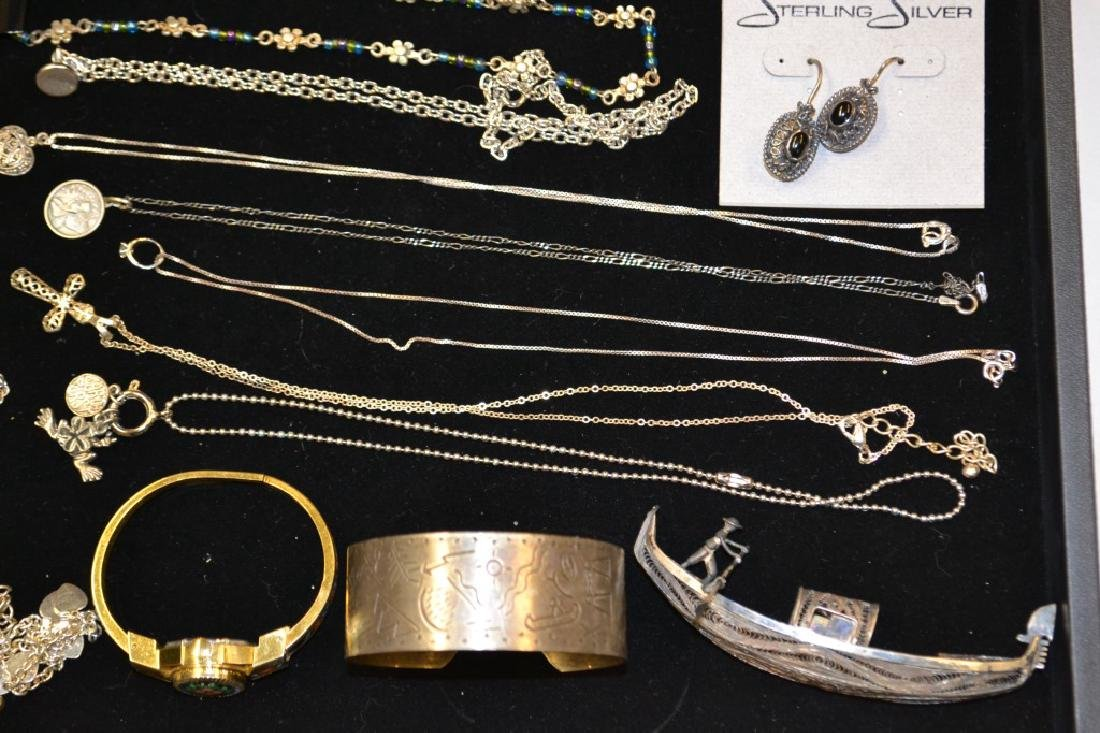 Grouping of Costume & Sterling Silver Lot - 2