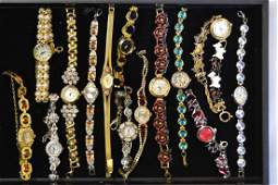 Grouping of Ladies Wrist Watches
