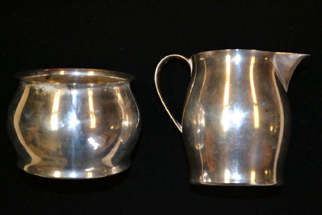 Tiffany & Co. Sterling Silver Creamer & Open Sugar