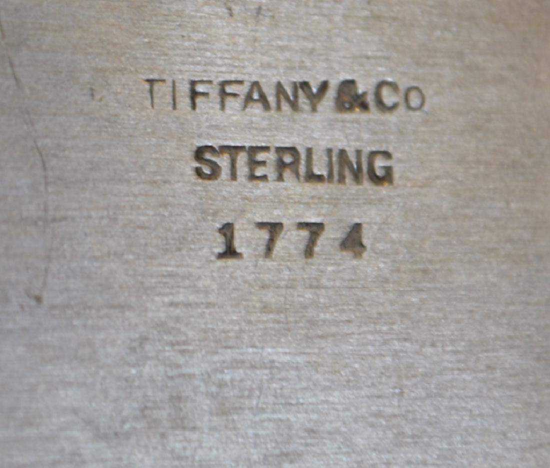 Tiffany & Co. Sterling Silver Creamer & Open Sugar - 2