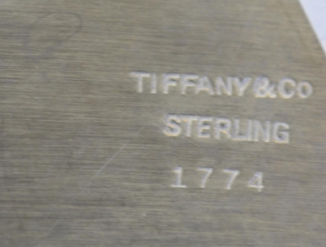 Tiffany & Co. Sterling Silver Creamer & Open Sugar - 5