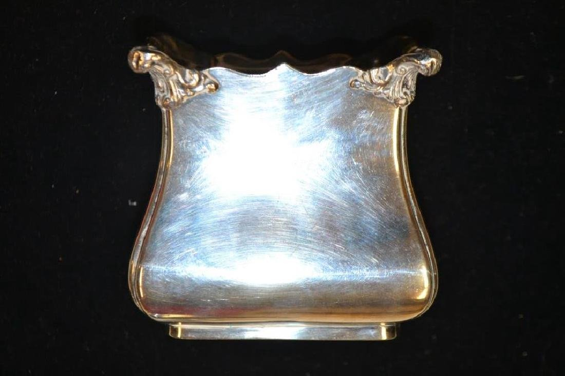 Two A LPHA Gravy Boats & Silver Plated Tea Caddy - 4