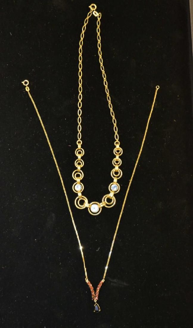 10 Kt Gold and 9kt Gold Necklaces
