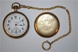 Illinois Santa Fe Special pocket watch 16 size