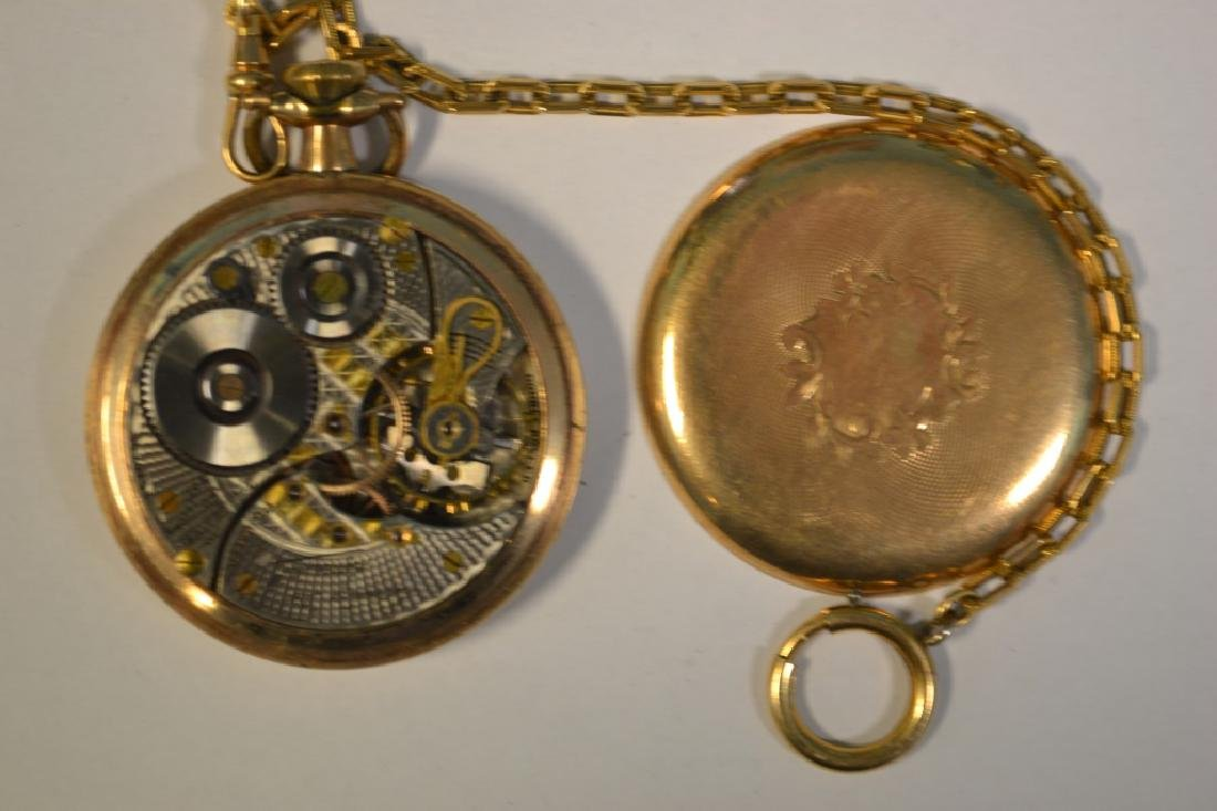 "Illinois ""Santa Fe Special"" pocket watch. 16 size, - 3"