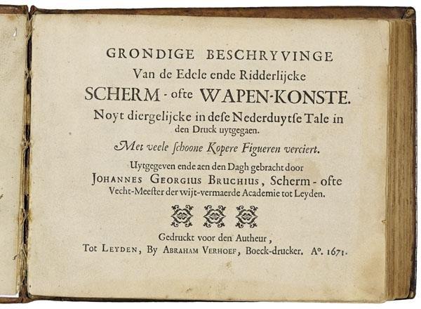 8: BRUCHIUS, Johannes Georgius.