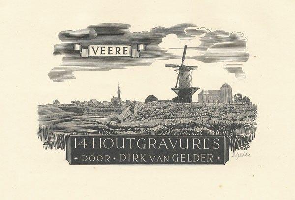 379: GRAPHIC ARTS - GELDER, Dirk van (1907-1990).