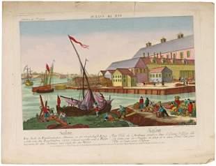 AMERICA - OPTICAL VIEW - LEIZELT, Balth. Frederic. V