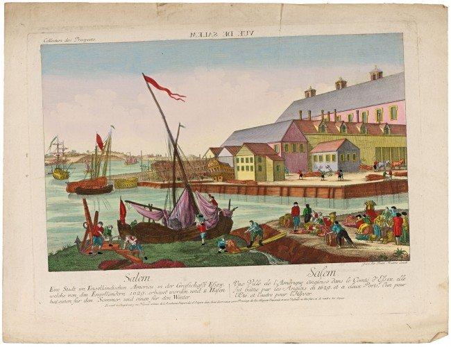 2: AMERICA - OPTICAL VIEW - LEIZELT, Balth. Frederic. V