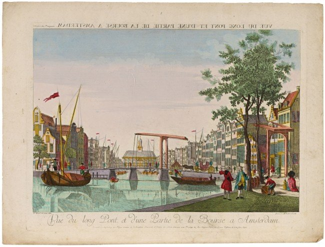 3: AMSTERDAM & THE HAGUE - OPTICAL VIEWS. Lot of 7 cont