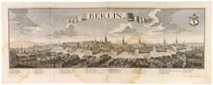 BERLIN - WERNER, Friedrich Bernhard (1690 - 1776). B