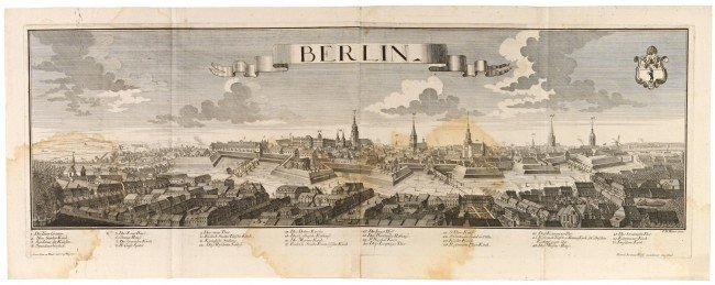 7: BERLIN - WERNER, Friedrich Bernhard (1690 - 1776). B