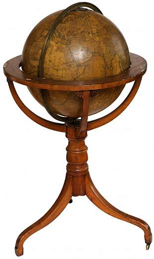 GLOBE - SMITH, John. Terrestrial globe.