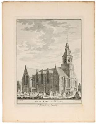 HAAN, A. de & A. van der LAAN. Four engravings with