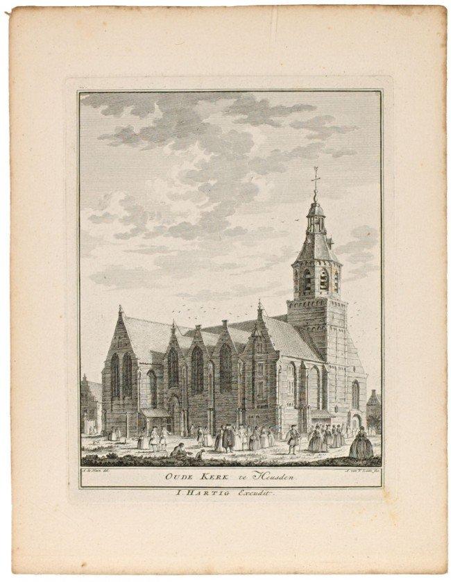 19: HAAN, A. de & A. van der LAAN. Four engravings with