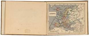 JAEGER, (Carl Friedrich) Julius. Zak-atlas van Euro