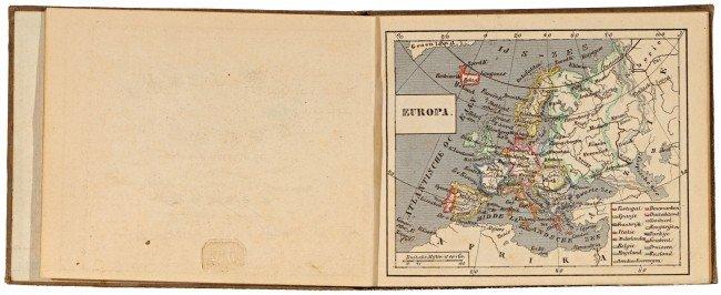 21: JAEGER, (Carl Friedrich) Julius. Zak-atlas van Euro