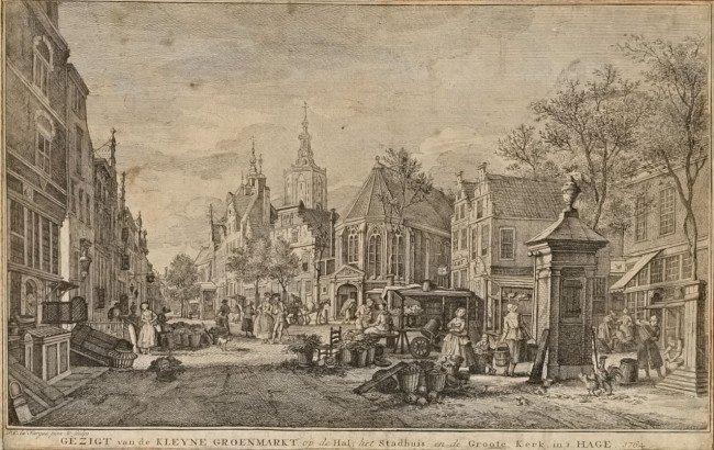 23: LA FARGUE, Paulus Constantijn (1729-1782). Gezigt v