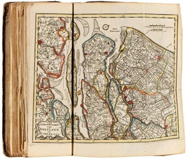 24: LETH, Hendrik de. Nieuwe geographische en historisc