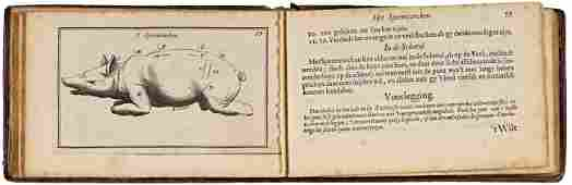 328: GASTRONOMY -  De cierlycke voorsnydinge aller tafe