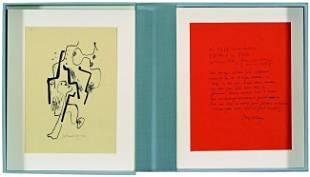 1019: CLAUS, Hugo (1929-2008) - CORNEILLE (1922-2010).
