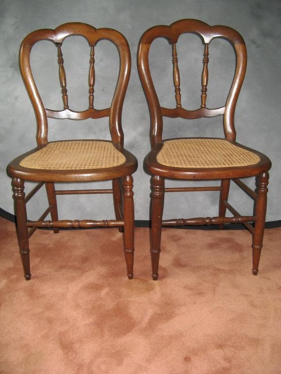 17: Victorian Spindle Back Chairs