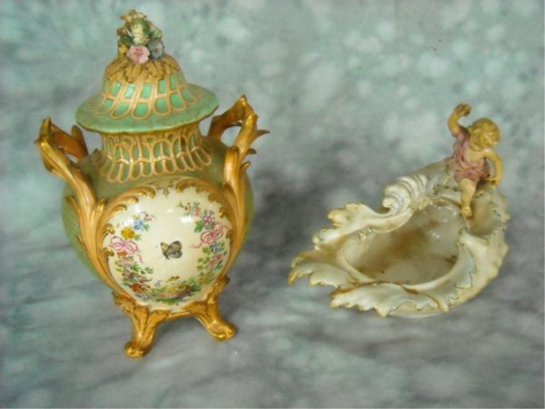 12: Dresden and Meissen Lot