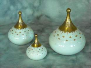 Rosenthal three piece Lidded Canister Set