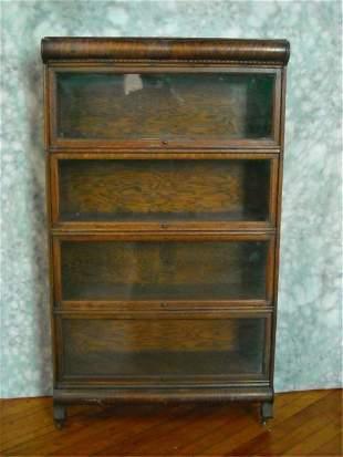 Oak Stack Book Case