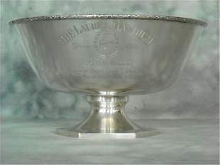 Schofield Co. Sterling Silver Horse Racing Trophy