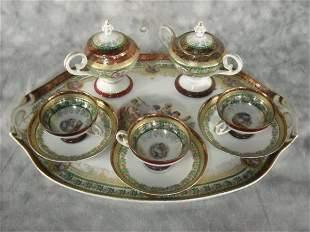 Continental Porcelain Tea Service