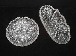 Lot of Hawkes Quality Cut Glass