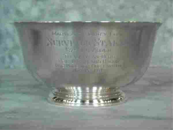 Steiff Sterling Silver Horse Racing Trophy
