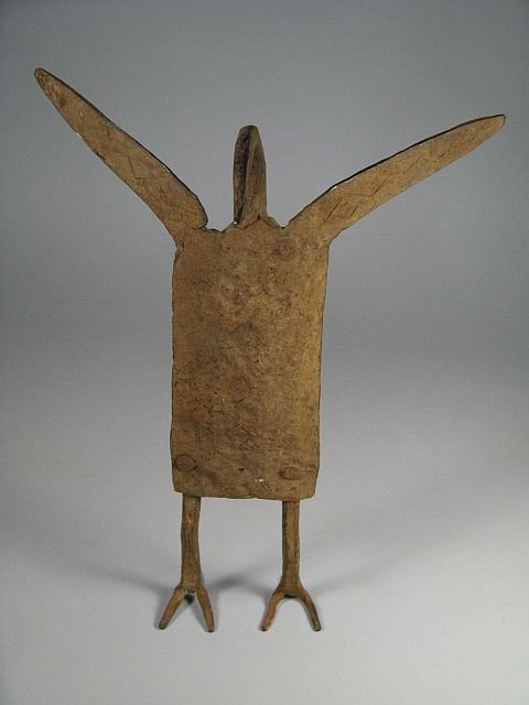 African Dogon Iron Figural Sculpture