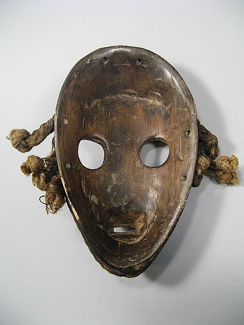 19: Grouping Of African Tribal Masks - 10