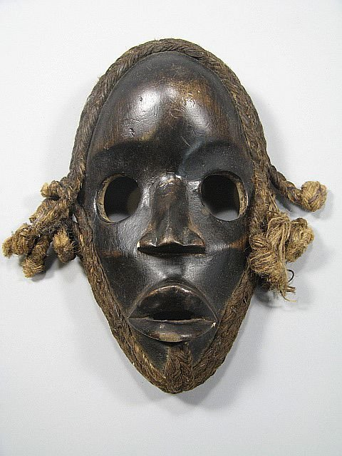 19: Grouping Of African Tribal Masks - 4