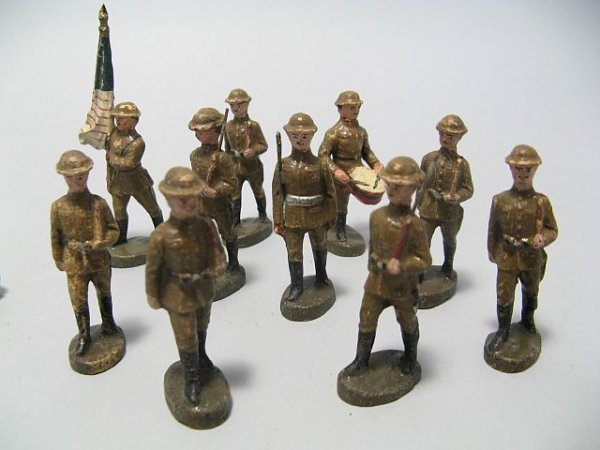 425: Lot Of Lead Toy Soldiers, Cowboys, Indian Figures - 5