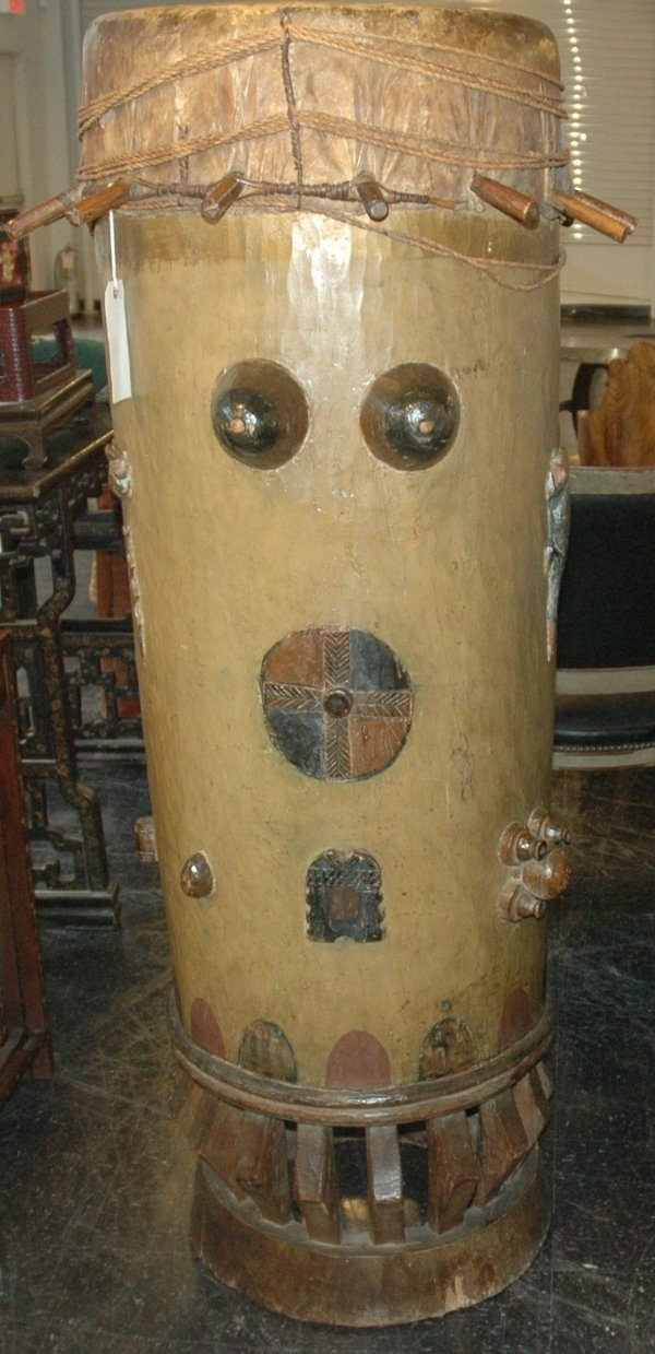 6: A WEST AFRICAN WOOD DRUM