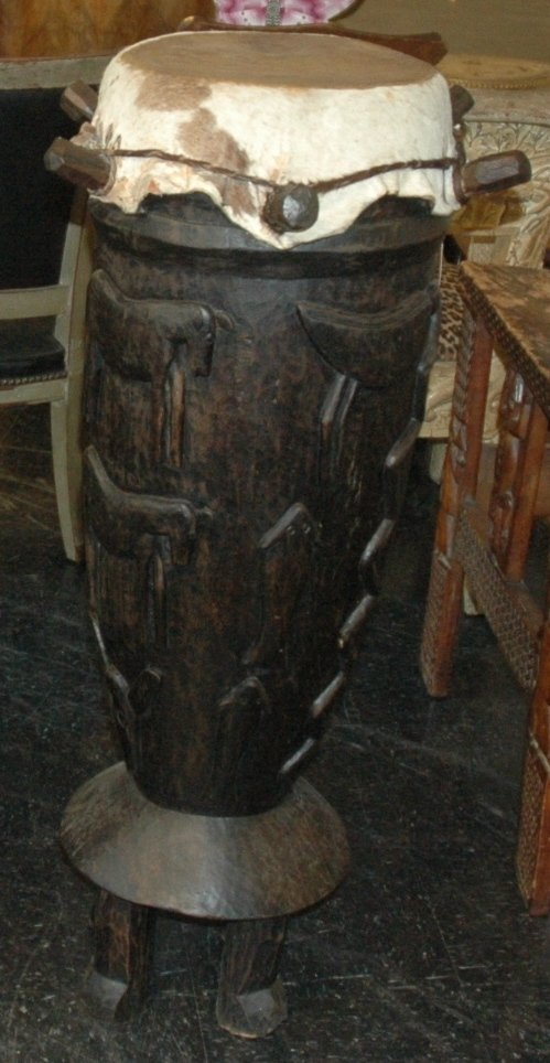 7: A WEST AFRICAN WOOD DRUM