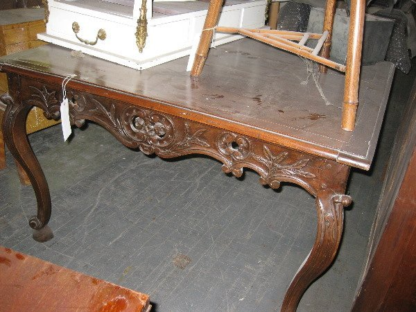 17: A FRENCH PROVINCIAL STYLE TABLE