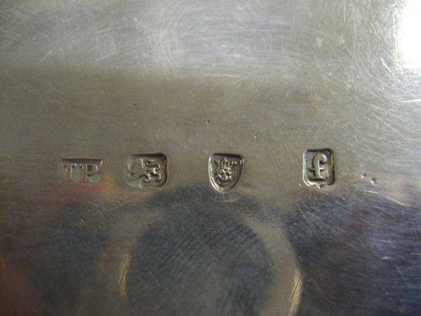 4: PAIR GEORGE III ENGLISH SILVER TEA CADDIES WITH SCRO - 3