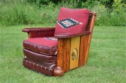 Thomas Molesworth Club Chair with Indian