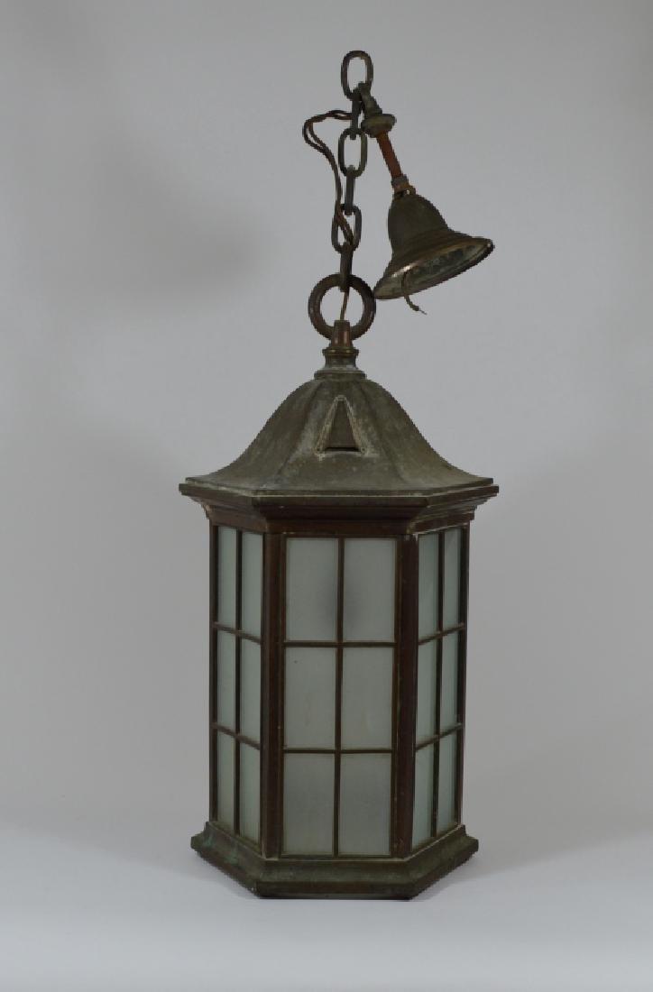 Octagonal outdoor hanging light fixture brass octagonal outdoor hanging light fixture workwithnaturefo