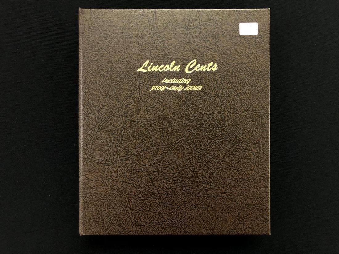 1909-2016  Lincoln Cent W/Proofs  Dansco Album
