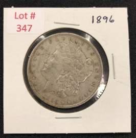 1896  U.S. Morgan Silver Dollar