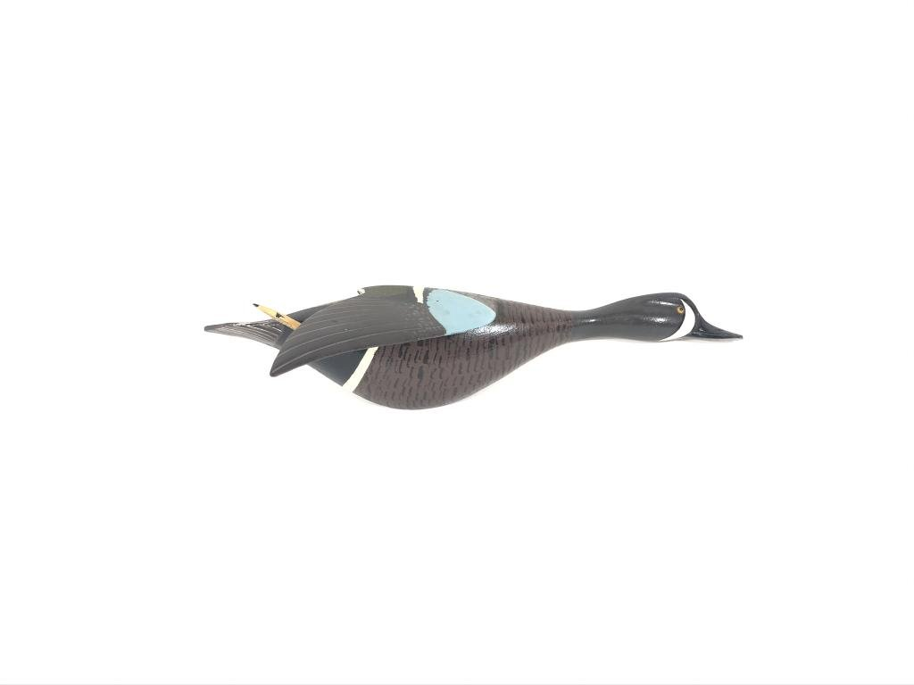 Roy Conklin Half Body Flying Blue Wing Teal