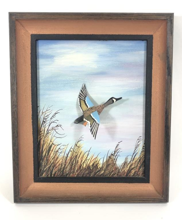 Roy Conklin Blue Wing Teal Miniature Flyer