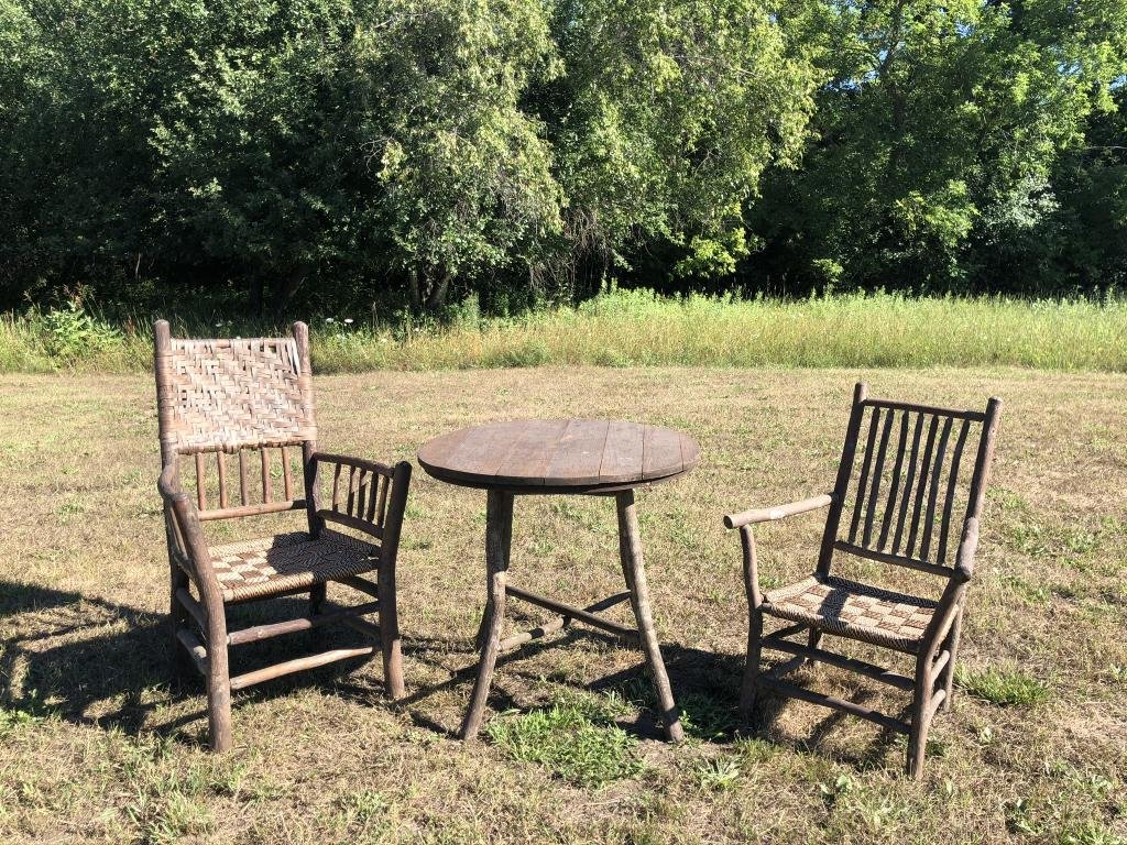 Old Hickory Assembled Three Piece Set